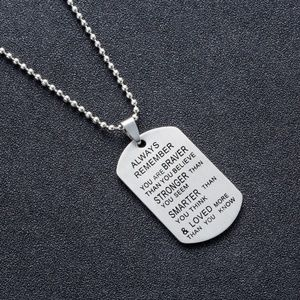 Jewelry - Always Loved Stainless steel Dog tags necklace